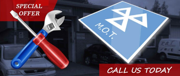 MOT Offer - R and T Autocentre
