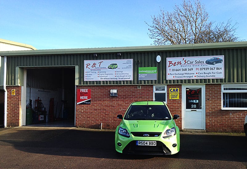 R and T Autocentre Premises