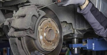 Brakes at R and T Autocentre